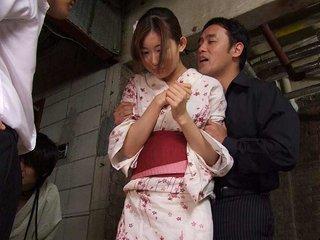 Natsume Inagawa kidnapped and screwed a lot
